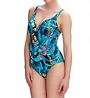 Fantasie Seychelles Underwire Deep Plunge 1-Piece Swimsuit FS6110
