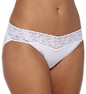 Hanky Panky Cotton With A Conscience V-kini Panty 892201