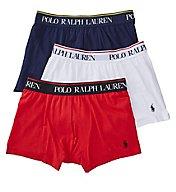 Polo Ralph Lauren Stretch Cotton Pouch Boxer Briefs - 3 Pack LEBBP3